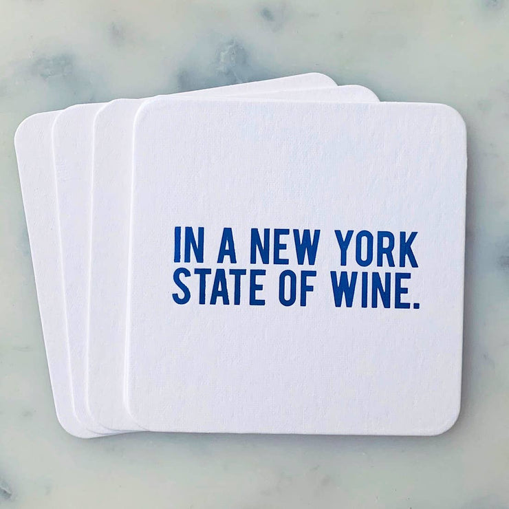 Coaster In a New York State of Wine - BodyFactory