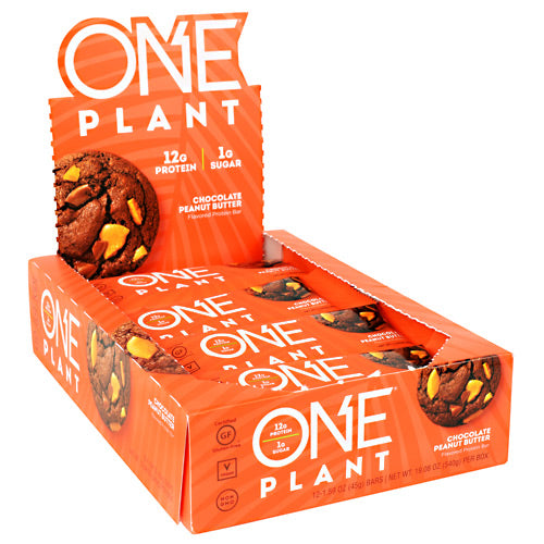 One Plant-Based Protein Bar - BodyFactory