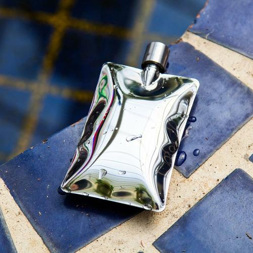 Liquid Body Chrome Flask - BodyFactory