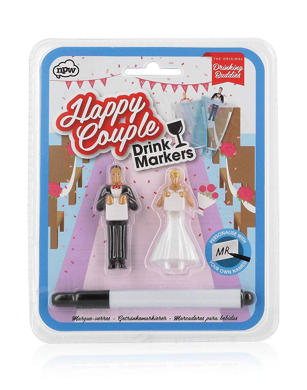 Happy Couple Drinking Buddies - BodyFactory