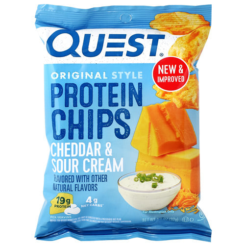 Quest Chips Cheddar & Sour Cream - BodyFactory