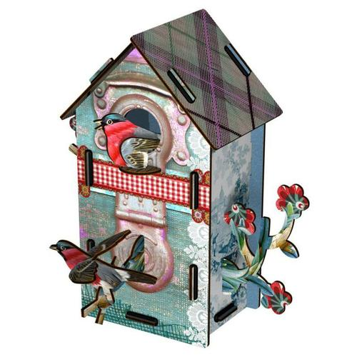 Bird House 2 Floors Playmates - BodyFactory