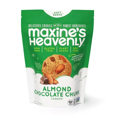 Maxine's Almond Chocolate Chip Cookies 7.2 Oz - BodyFactory