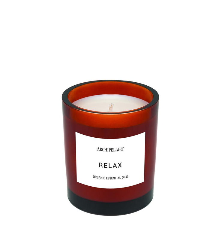 Aromatherapy Candle Relax - BodyFactory