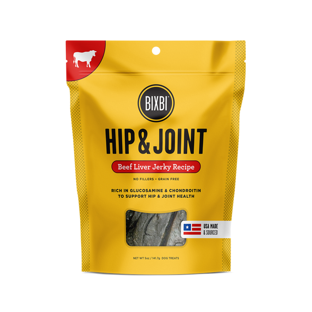 Hip & Joint Treats Beef Liver 5oz - BodyFactory