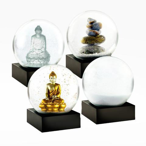 Mini Zen Set of 4 Snow Globe - BodyFactory