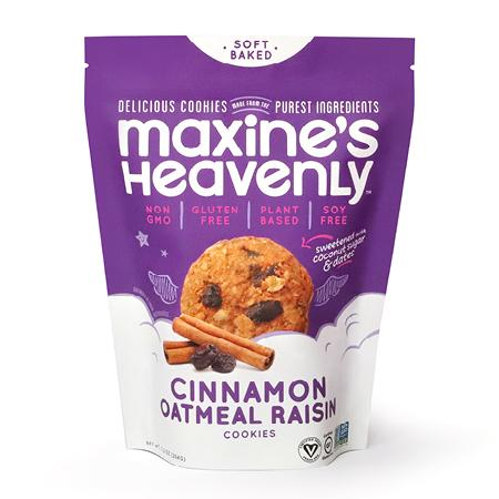 Maxine's Cinnamon Oatmeal Raisin Cookies 7.2 Oz - BodyFactory