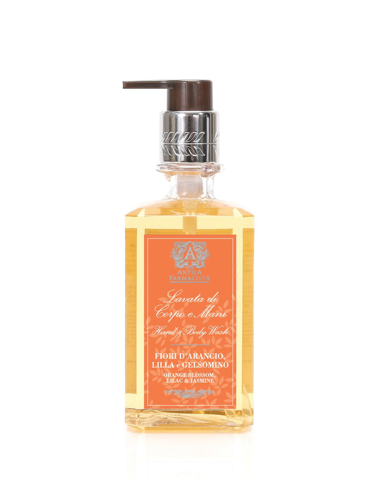 Hand Wash Orange Blossom, Lilac & Jasmine - BodyFactory
