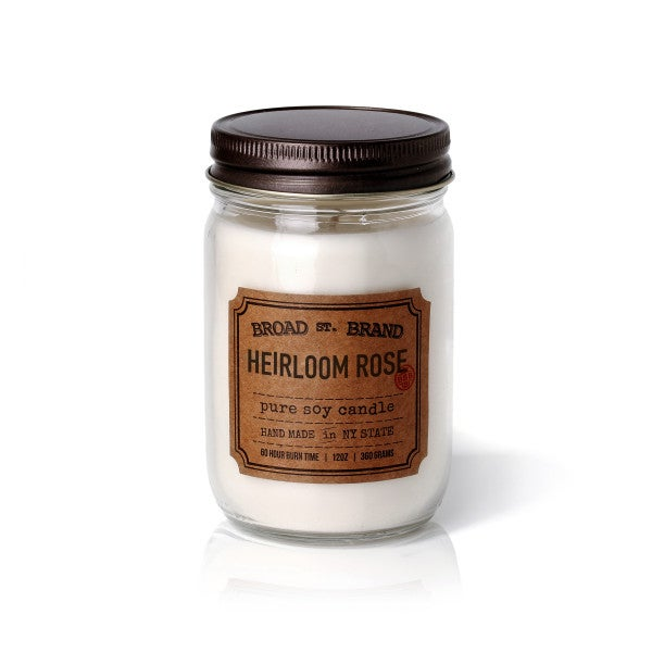 BSB Candle Heirloom Rose - BodyFactory