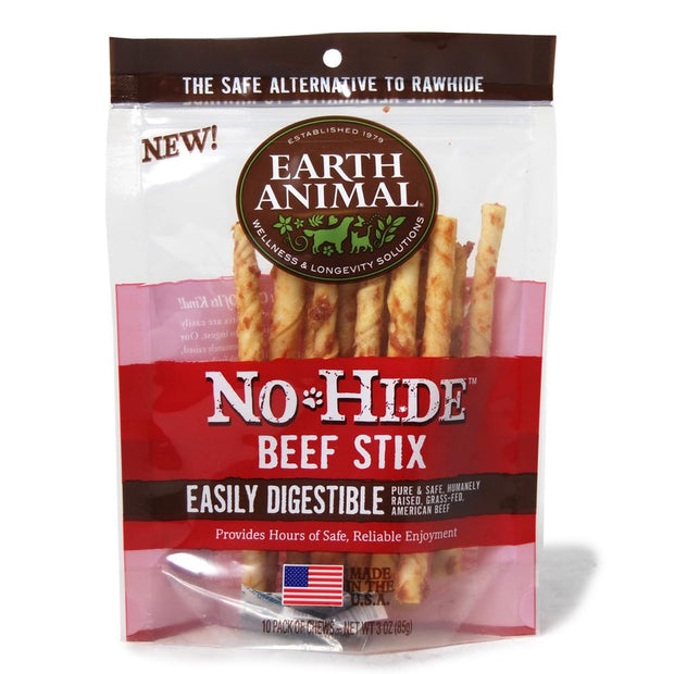 No Hide Beef Stix 10 Pack - BodyFactory