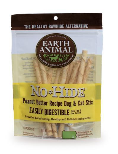 No Hide Peanut Butter Stix 10 Pack - BodyFactory