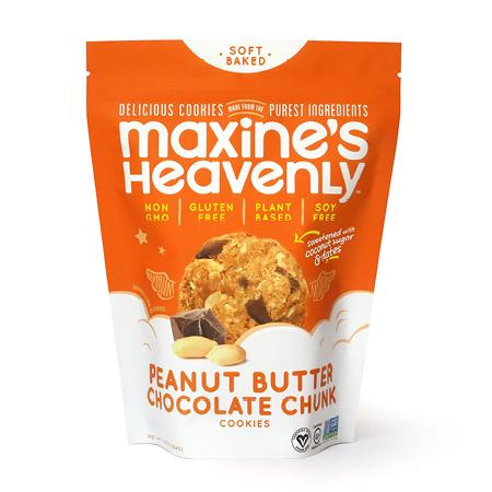 Maxine's Peanut Butter Chocolate Chunk Cookies 7.2 Oz - BodyFactory