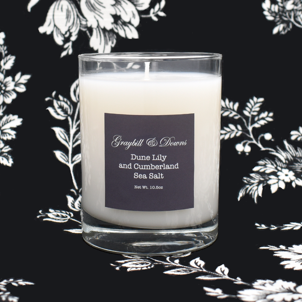 Artisan Candle Dune Lily and Cumberland Sea Salt