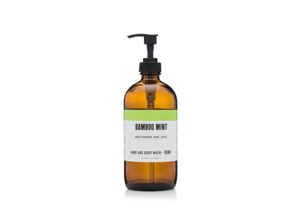 Hand and Body Wash Bamboo Mint - BodyFactory