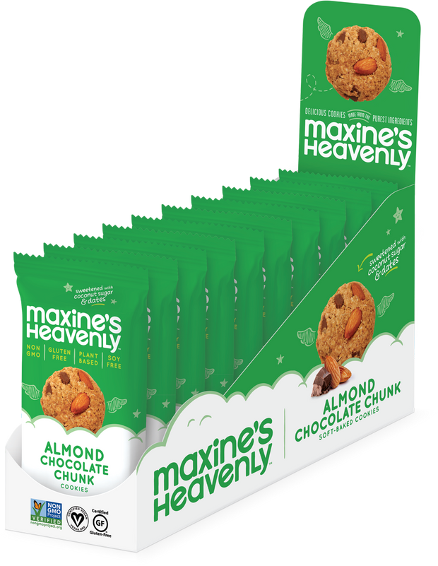 Maxine's Almond Chocolate Chip Cookie 2 Pack - BodyFactory