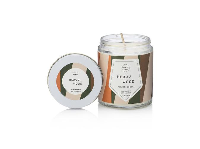 Heavy Wood 16 Oz Candle - BodyFactory