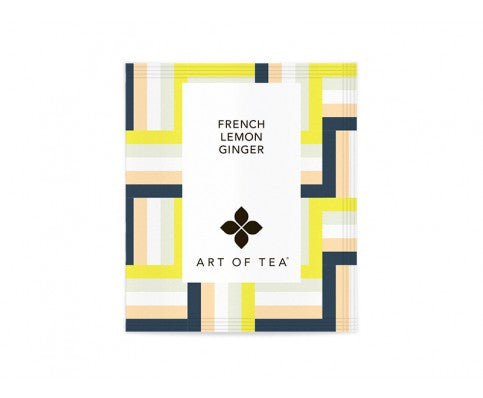 Eco Pyramid Teabags French Lemon Ginger - BodyFactory