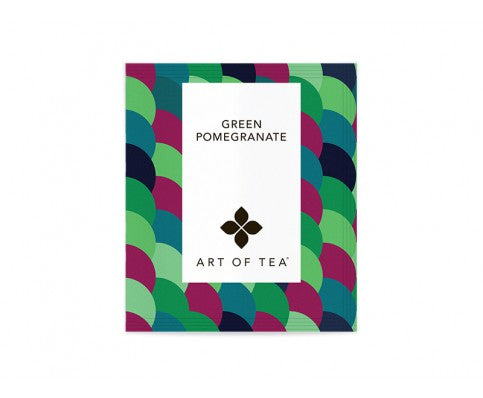 Eco Pyramid Teabags Green Pomegranate - BodyFactory