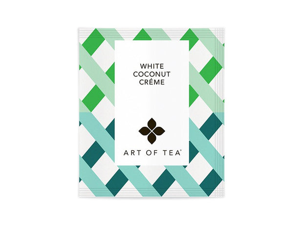 Eco Pyramid Teabags White Coconut Creme - BodyFactory