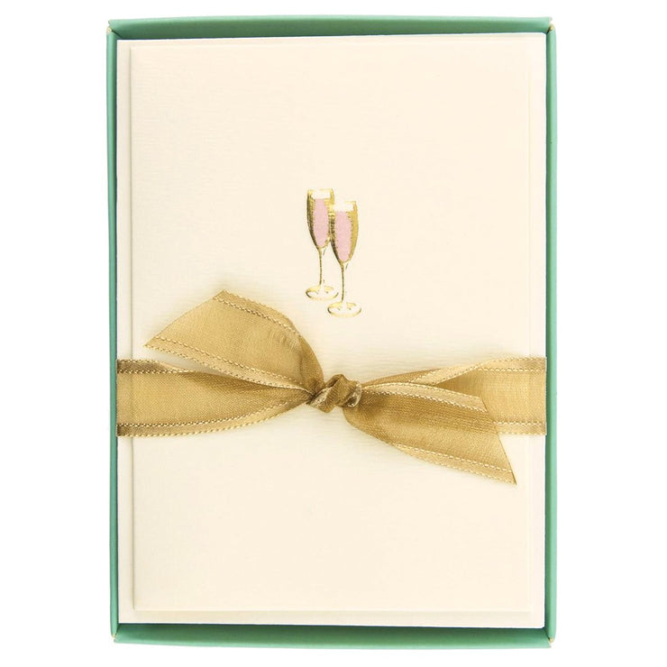 Greeting Card Box Set Pink Champagne - BodyFactory