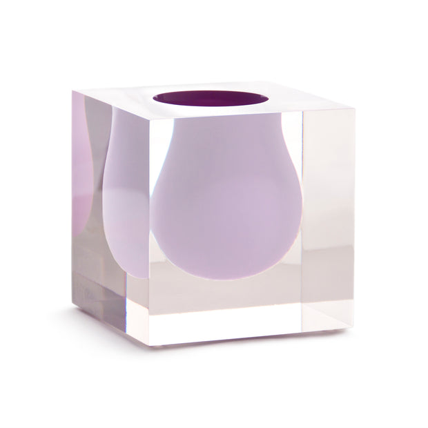 Bel Air Mini Scoop Vase 10 inch Lilac - BodyFactory