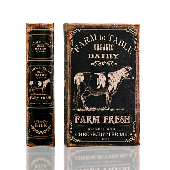 Dairy Farm Book Box - BodyFactory