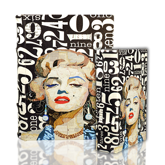 Book Set Marilyn Monroe - BodyFactory