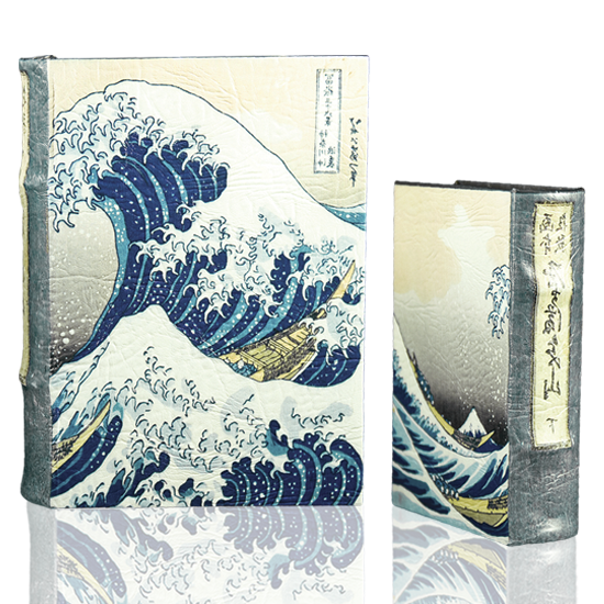 Book Set Hokusai's Great Wave - BodyFactory