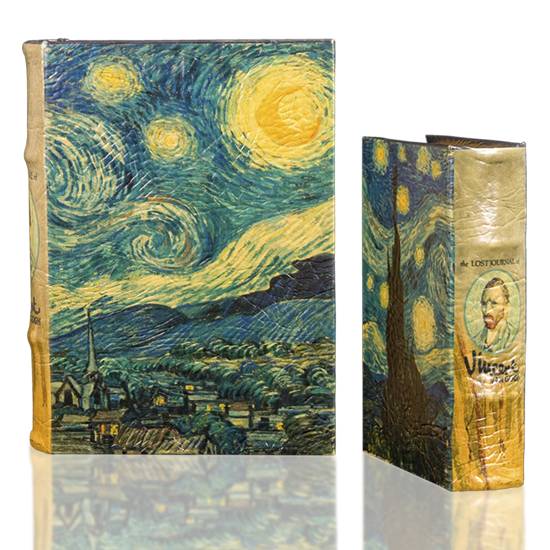 Book Set Van Gogh Starry Night - BodyFactory