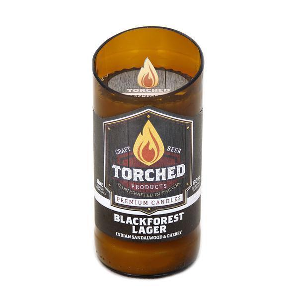 Beer Bottle Candle BlackForest Lager - BodyFactory
