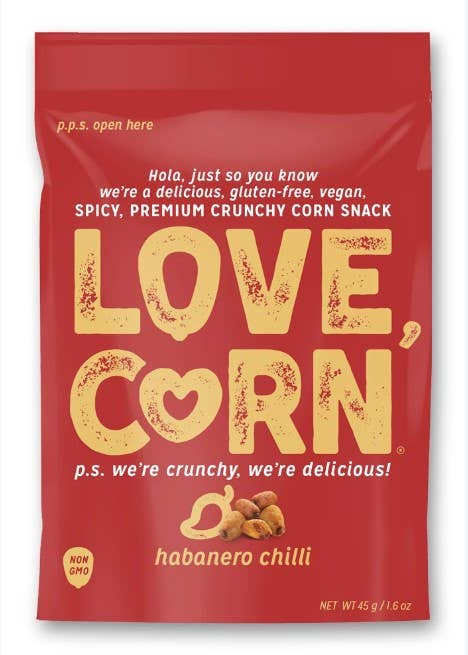 Love Corn Habanero Chilli - BodyFactory