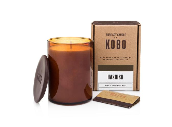 Soy Candle Hashish - BodyFactory