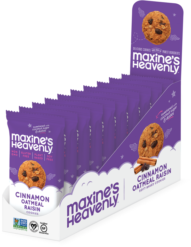 Maxine's Cinnamon Oatmeal Raisin Cookie 2 Pack - BodyFactory