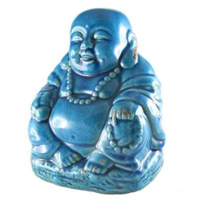 Crackle Buddha Blue - BodyFactory