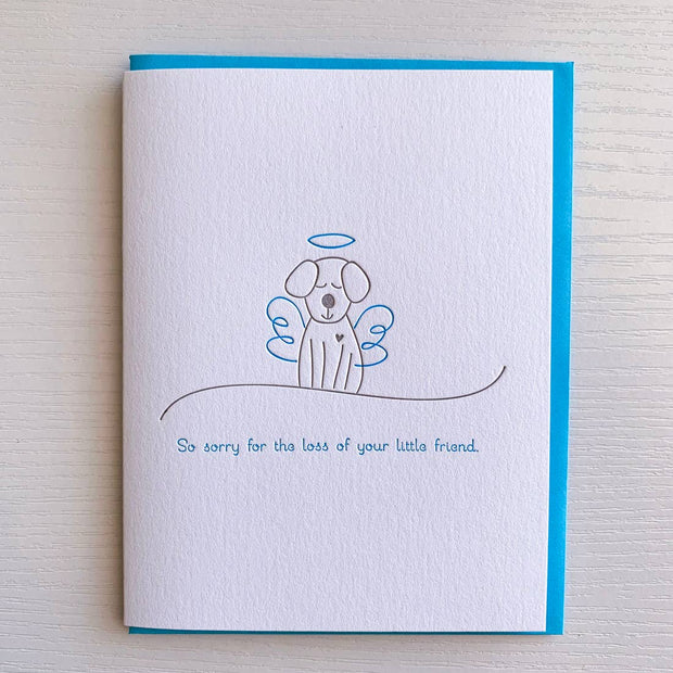 Dog Sympathy Card - BodyFactory