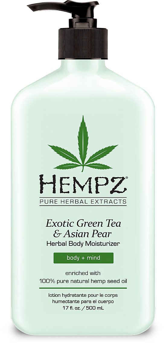 Herbal Moisturizer Exotic Green Tea & Asian Pear - BodyFactory