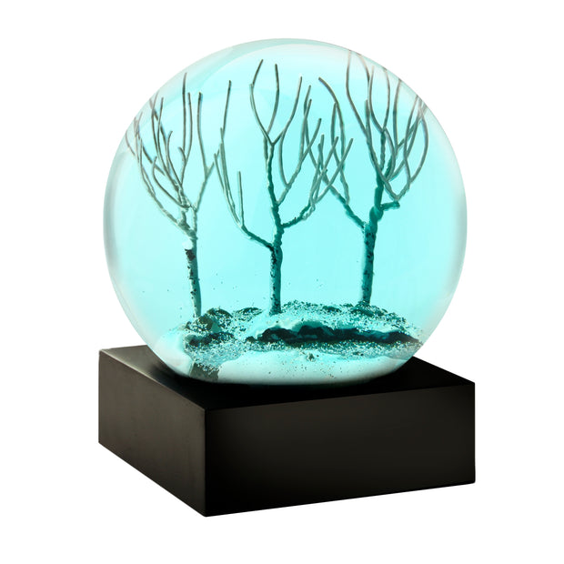 Winter Evening Snow Globe