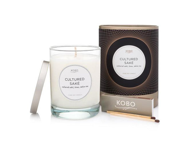 Soy Candle Cultured Sake - BodyFactory