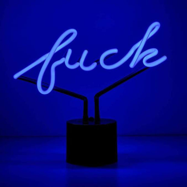 Neon Desk Light Fuck - BodyFactory