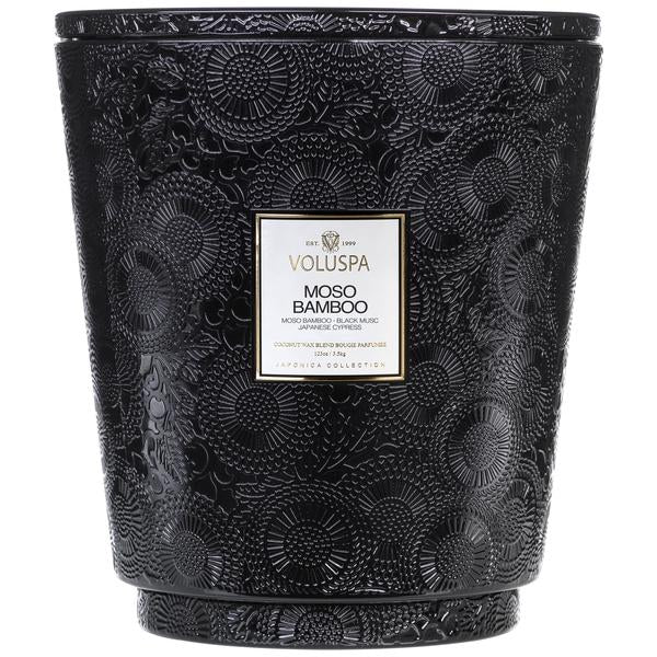 Hearth Candle Moso Bamboo - BodyFactory