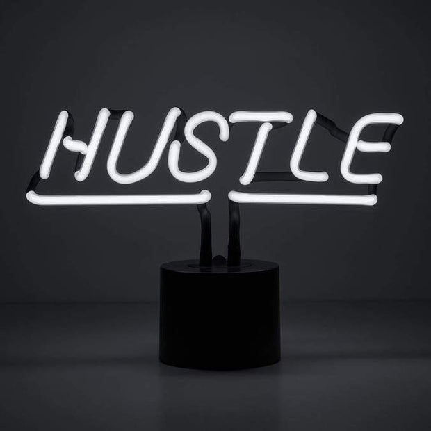 Neon Desk Light Hustle - BodyFactory