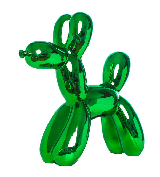 Balloon Dog Bank Green - BodyFactory