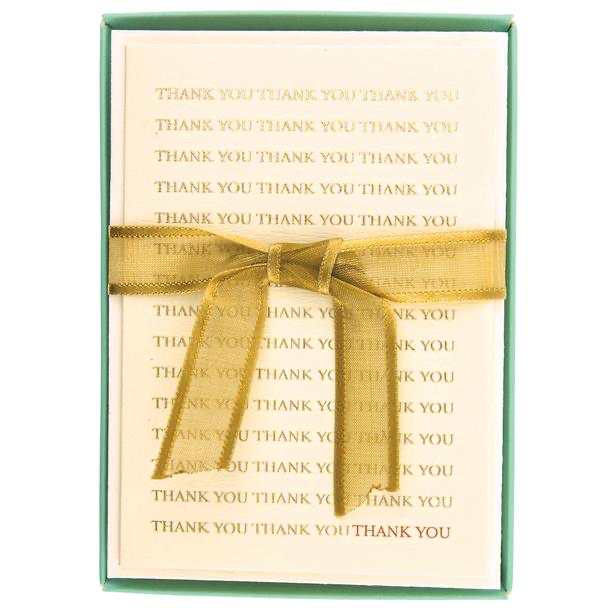 Greeting Card Box Set Thank You SET - BodyFactory