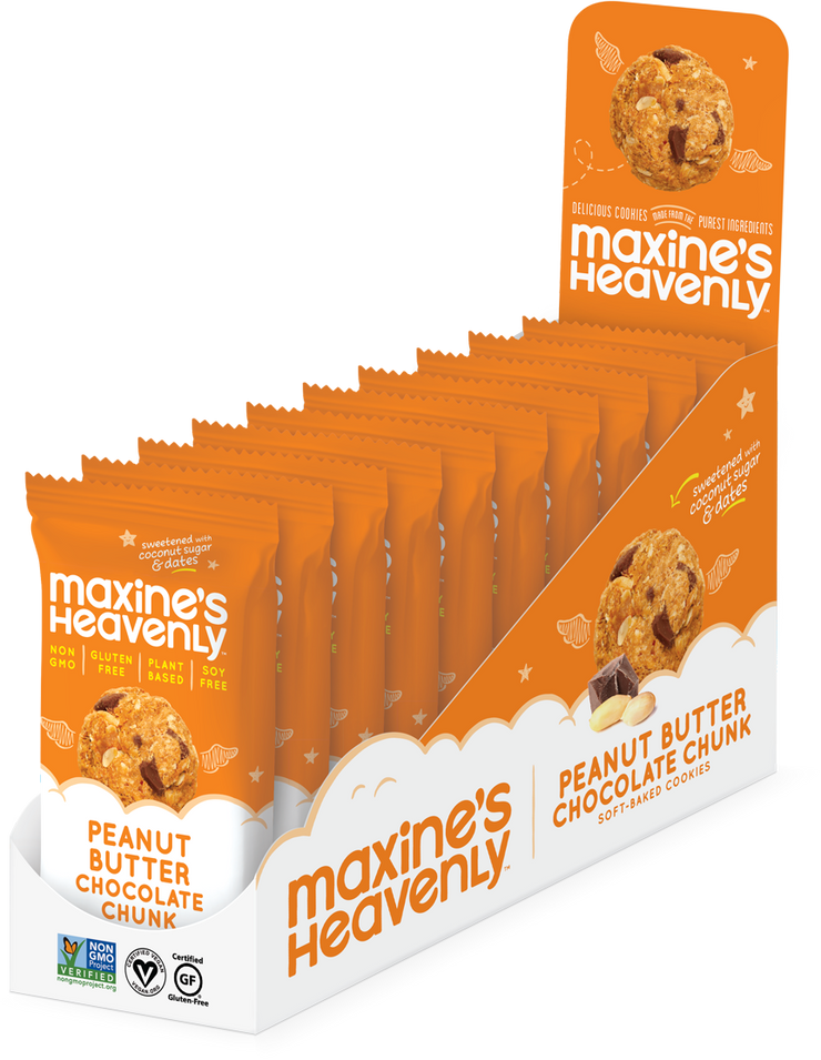 Maxine's Peanut Butter Chocolate Chip Cookie 2 Pack - BodyFactory