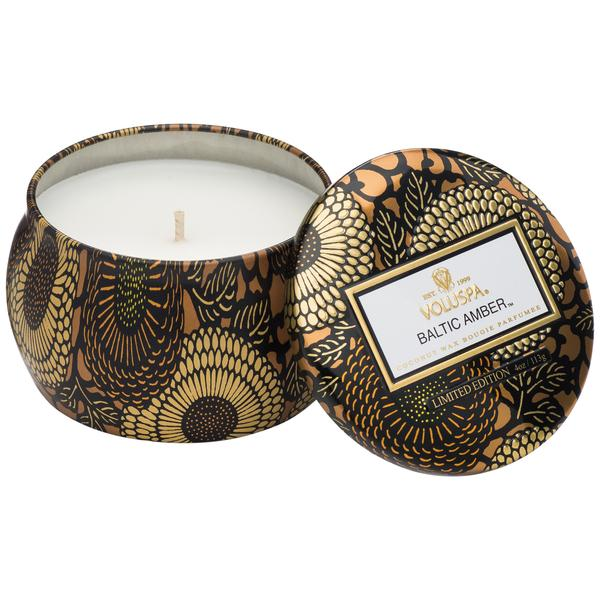 Petite Tin Candle Baltic Amber - BodyFactory