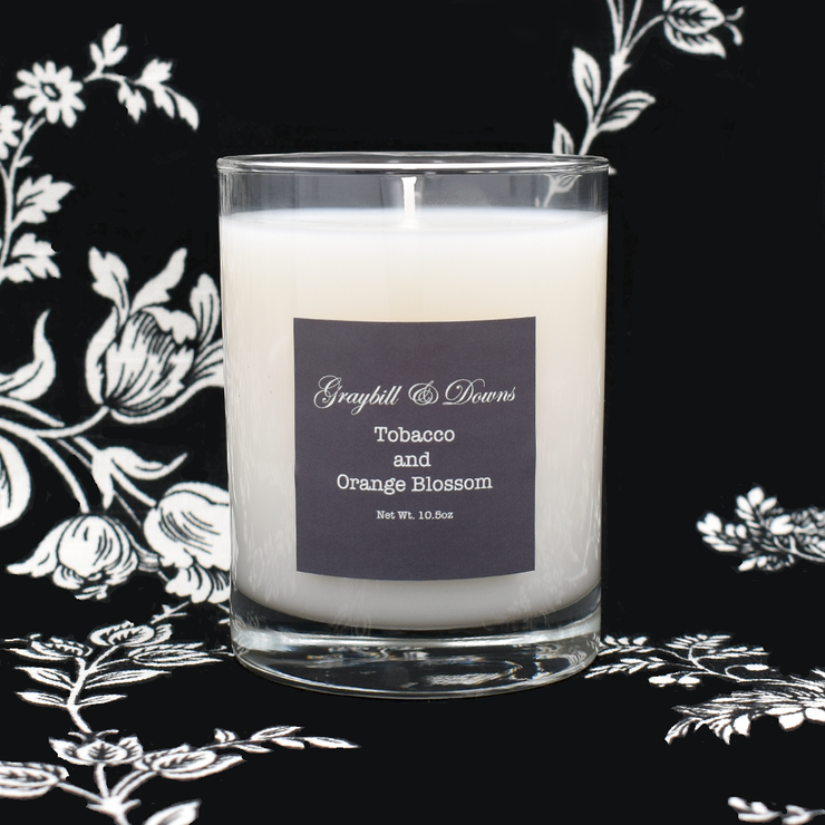 Artisan Candle Tobacco & Orange Blossom