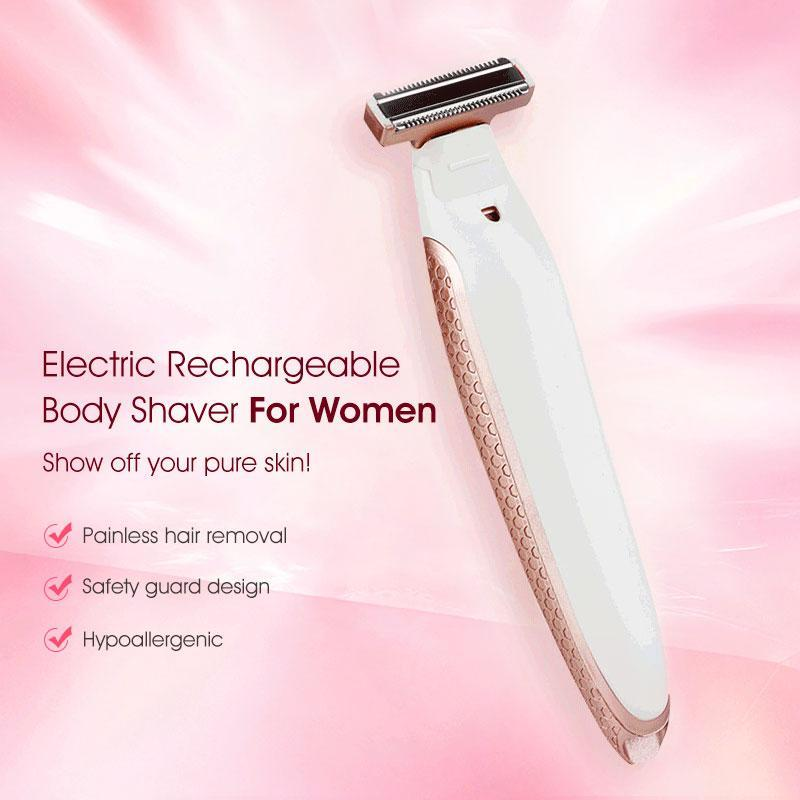 Electric Rechargeable Body Shaver For Women - planetshopper.net