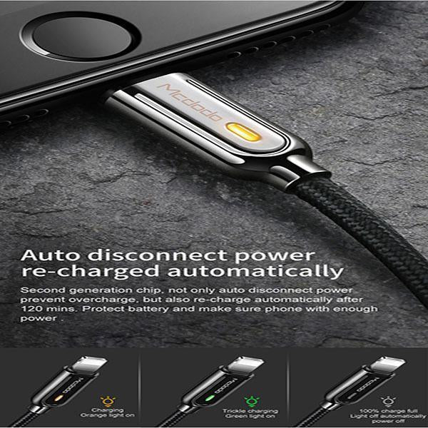 Automatic intelligent power off charging cable - planetshopper.net