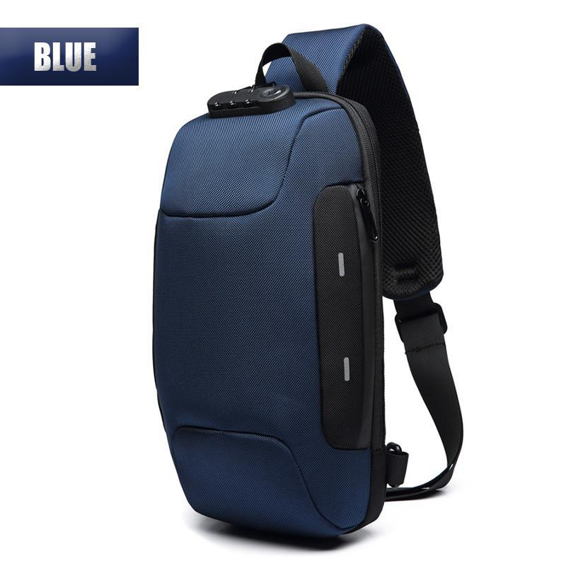 Anti-theft Backpack With 3-Digit Lock - planetshopper.net