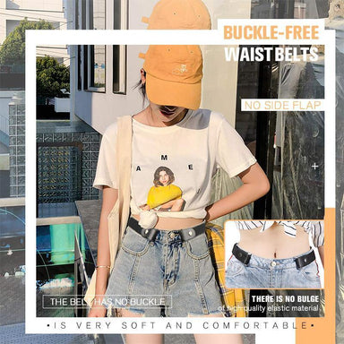 Buckle-free Invisible Elastic Waist Belts - planetshopper.net